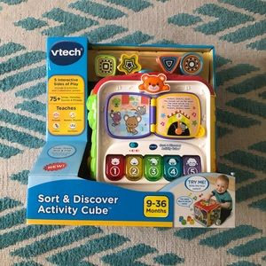 V-tech sort and discovery cube
